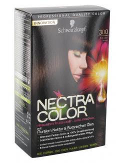 Schwarzkopf Nectra Color Pflege-Farbe 300 schwarzbraun  (143 ml) - 4015000982351