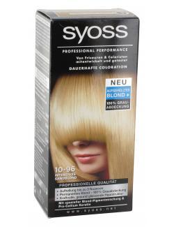 Syoss Professional Performance Coloration 10-96 intensives Sandblond  (115 ml) - 4015000977548