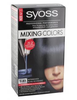 Syoss Mixing Colors 1-41 intensives Blau-Schwarz  (135 ml) - 4015000981149