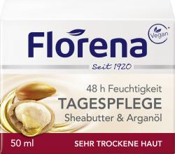 Florena Sheabutter & Arganöl Tagespflege  (50 ml) - 4005900108302
