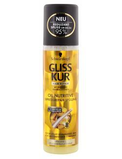 Schwarzkopf Gliss Kur Express-Repair-Spülung Oil Nutritive  (200 ml) - 4015000985321