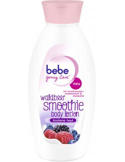 Bebe Young Care Smoothie Bodylotion Waldbeer  (400 ml) - 3574661191423