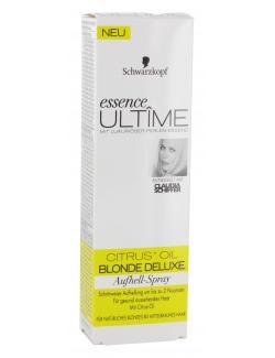 Schwarzkopf Essence Ultîme Blonde Deluxe Aufhell-Spray  (100 ml) - 4015001009279