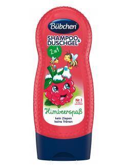 Bübchen Shampoo & Shower Himbärspaß  (230 ml) - 7613035058200
