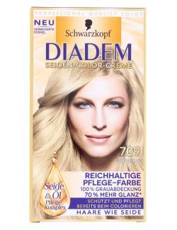 Schwarzkopf Diadem Seiden-Color-Creme 709 goldblond  (142 ml) - 4015001010237