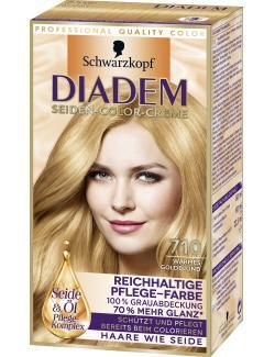 Schwarzkopf Diadem Seiden-Color-Creme warmes Goldblond 710  (142 ml) - 4015001010275