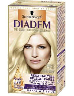 Schwarzkopf Diadem Seiden-Color-Creme extra helles Platinblond 792  (142 ml) - 4015001010350