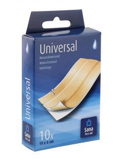 Sana first aid Universal Pflaster wasserabweisend  (10 St.) - 8712175931622