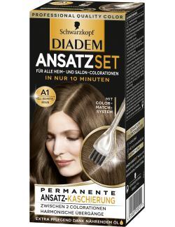 Schwarzkopf Diadem Ansatzset hell- bis mittelbraun A1  (22 ml) - 4015001010121
