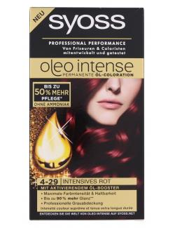 Syoss Oleo Intense Coloration 4-29 Intensives Rot  (115 ml) - 4015000987226