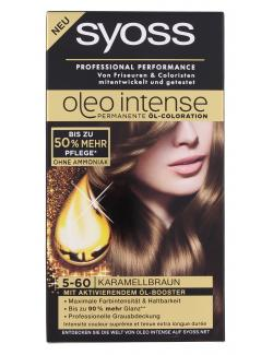 Syoss Oleo Intense Coloration 5-60 karamellbraun  (115 ml) - 4015001005851