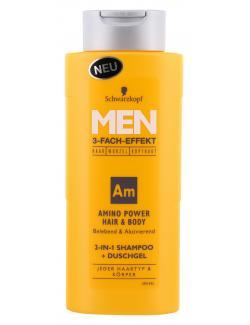 Schwarzkopf Men Amino Power Hair & Body Shampoo+Duschgel  (250 ml) - 4015001012842