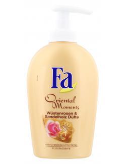 Fa Oriental Moments Flüssigseife Wüstenrose & Sandelholz Düfte  (250 ml) - 4015001013368