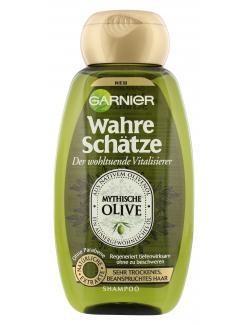 Garnier Wahre Schätze vitalisierendes Shampoo Olive  (250 ml) - 3600541875333