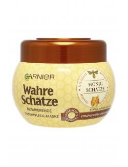 Garnier Wahre Schätze stärkende Tiefenpflege Maske Honig  (300 ml) - 3600541875258