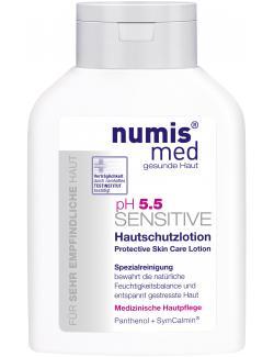 Numis med pH 5,5 Sensitive Hautschutzlotion  (200 ml) - 4003583187812