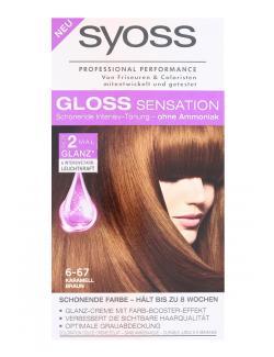 Syoss Gloss Sensation Intensiv-Tönung 6-67 Karamell Braun  (115 ml) - 4015100182057