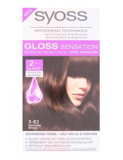 Syoss Gloss Sensation Intensiv-Tönung 3-82 Maronen Braun  (115 ml) - 4015100182118