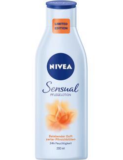 Nivea Sensual belebender Duft zarter Pfirsichblüten  (200 ml) - 4005900301840