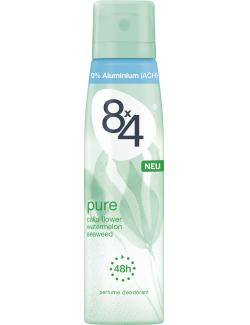 8x4 Pure Deo Spray  (150 ml) - 4005900185259