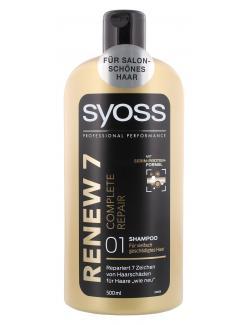 Syoss Renew 7 Complete Repair Shampoo  (500 ml) - 4015100183597