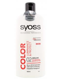 Syoss Color Luminance & Protect Spülung  (500 ml) - 4015100183733
