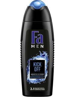 Fa Men Kick off Refreshing Duschgel Körper & Haar  (250 ml) - 4015100186659
