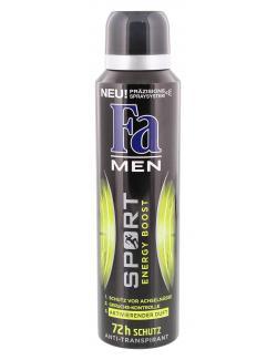 Fa Men Deo Spray Sport Energy Boost  (150 ml) - 4015100183634