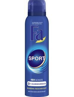 Fa Sport Deodorant belebend-frischer Duft  (150 ml) - 4015100180732