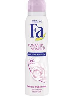 Fa Romantic Moments Deodorant Duft der weißen Rose  (150 ml) - 4015100181029