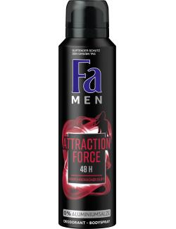 Fa Men Deo & Bodyspray Attraction Force  (150 ml) - 4015100181074