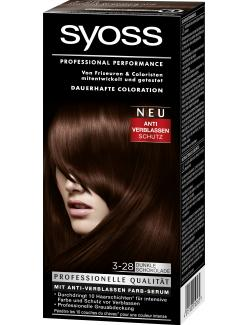 Syoss Professional Performance Coloration 3-28 dunkle Schokolade  (115 ml) - 4015100010565