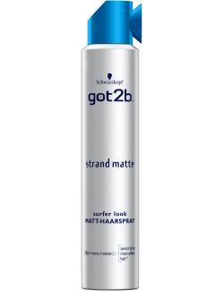 Schwarzkopf got2b Strandmatte Haarspray matt  (200 ml) - 4015100187311
