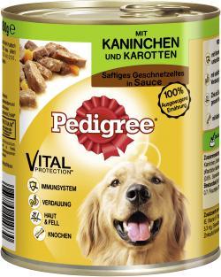 Pedigree Saftiges Geschnetzeltes mit Kaninchen & Karotten  (800 g) - 3065890114630