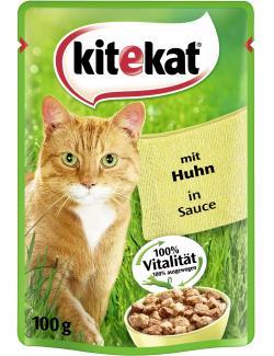 Kitekat mit Huhn in Sauce  (100 g) - 4008429080029