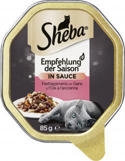 Sheba Empfehlung der Saison mit Lamm und Frühlingsgemüse  (85 g) - 4008429001475