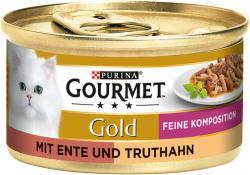 Gourmet Gold mit Ente & Truthahn  (85 g) - 3222270493871