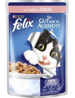 Felix So gut wie es aussieht mit Lachs in Gelee  (100 g) - 7613031294060