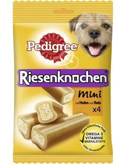 Pedigree Riesenknochen Mini mit Huhn & Reis  (180 g) - 5998749113851