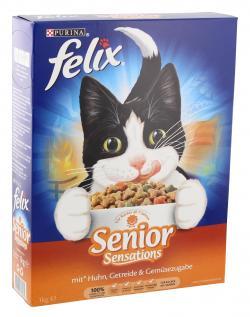 Felix Senior Sensations mit Geflügel  (1 kg) - 7613032728939