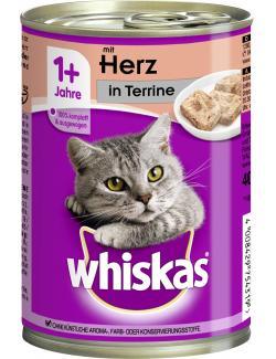 Whiskas Terrine mit Herz  (400 g) - 4008429754319