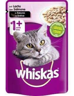 Whiskas Adult in Sauce mit Lachs  (100 g) - 4008429079719