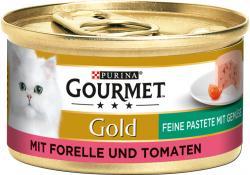 Gourmet Gold mit Forelle & Tomaten  (85 g) - 7613033045417