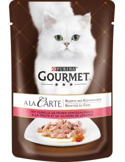 Gourmet A la Carte mit Forelle & feiner Gemüseauswahl  (85 g) - 7613033058059