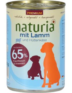 Naturia Lamm mit Aloe Vera  (410 g) - 4260169360179