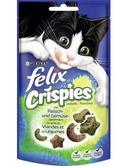 Felix Crispies mit Fleisch- und Gemüsegeschmack  (45 g) - 7613034290595