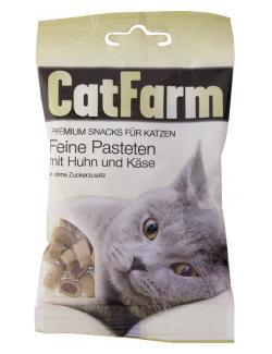 CatFarm Feine Pasteten mit Huhn & Käse  (50 g) - 9120004636669