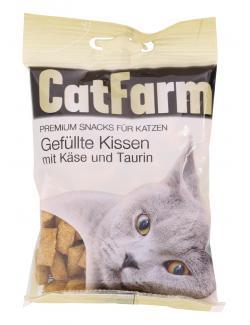 CatFarm Gefüllte Kissen mit Käse & Taurin  (50 g) - 9120004636683