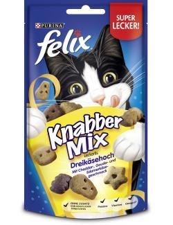 Felix Knabber Mix Dreikäsehoch  (60 g) - 7613034096838