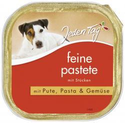 Jeden Tag Feine Pastete mit Pute, Pasta & Gemüse  (300 g) - 4306180225896